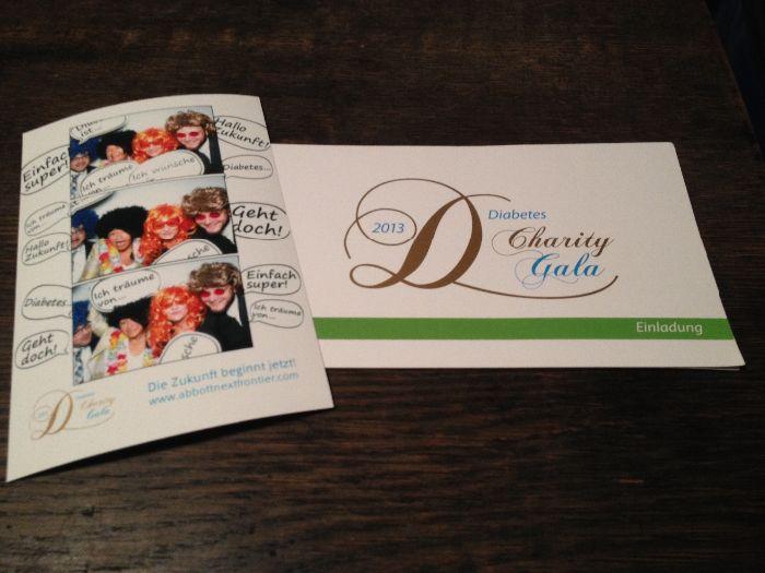 Diabetes Charity Gala Einladung